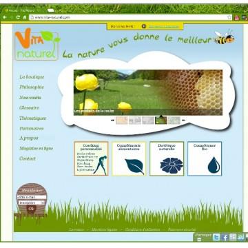 Site vita-naturel.com - avril 2011